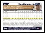 2004 Topps #147  Wes Helms  Back Thumbnail