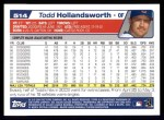 2004 Topps #514  Todd Hollandsworth  Back Thumbnail