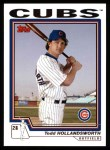 2004 Topps #514  Todd Hollandsworth  Front Thumbnail