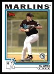 2004 Topps #318   -  Nic Ungs First Year Front Thumbnail