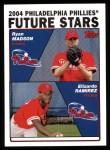 2004 Topps #328  Ryan Madson / Elizardo Ramirez  Front Thumbnail