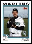 2004 Topps #543  Chad Fox  Front Thumbnail