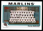2004 Topps #649   Miami Marlins Team Front Thumbnail