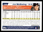 2004 Topps #133  Joe McEwing  Back Thumbnail