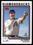 2004 Topps #268  Bob Brenly  Front Thumbnail