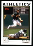2004 Topps #419  Mark Ellis  Front Thumbnail