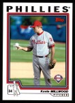 2004 Topps #11  Kevin Millwood  Front Thumbnail