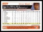 2004 Topps #479  Omar Daal  Back Thumbnail