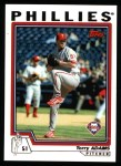 2004 Topps #182  Terry Adams  Front Thumbnail