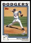 2004 Topps #95  Darren Dreifort  Front Thumbnail