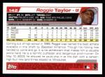 2004 Topps #142  Reggie Taylor  Back Thumbnail