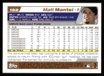 2004 Topps #162  Matt Mantei  Back Thumbnail