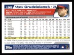 2004 Topps #195  Mark Grudzielanek  Back Thumbnail