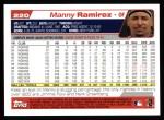 2004 Topps #220  Manny Ramirez  Back Thumbnail