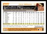 2004 Topps #204  Jack Wilson  Back Thumbnail