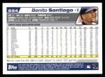 2004 Topps #554  Benito Santiago  Back Thumbnail