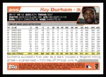 2004 Topps #205  Ray Durham  Back Thumbnail
