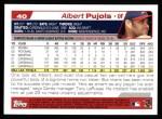 2004 Topps #40  Albert Pujols  Back Thumbnail