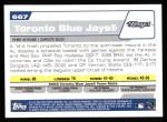2004 Topps #667   Toronto Blue Jays Team Back Thumbnail