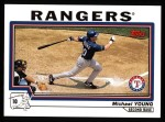 2004 Topps #41  Michael Young  Front Thumbnail