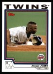 2004 Topps #60  Jacque Jones  Front Thumbnail