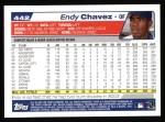 2004 Topps #442  Endy Chavez  Back Thumbnail