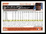 2004 Topps #255  Deivi Cruz  Back Thumbnail