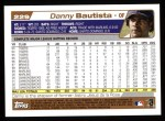 2004 Topps #229  Danny Bautista  Back Thumbnail
