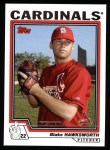 2004 Topps #299   -  Blake Hawksworth First Year Front Thumbnail
