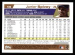 2004 Topps #14  Junior Spivey  Back Thumbnail