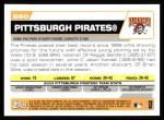 2004 Topps #660   Pittsburgh Pirates Team Back Thumbnail