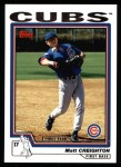2004 Topps #315   -  Matt Creighton First Year Front Thumbnail