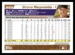 2004 Topps #403  Shane Reynolds  Back Thumbnail