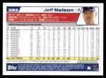 2004 Topps #382  Jeff Nelson  Back Thumbnail