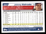 2004 Topps #397  Johnny Estrada  Back Thumbnail