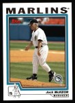 2004 Topps #278  Jack McKeon  Front Thumbnail