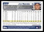 2004 Topps #546  Joe Randa  Back Thumbnail