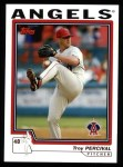 2004 Topps #530  Troy Percival  Front Thumbnail