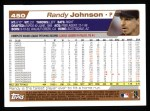 2004 Topps #450  Randy Johnson  Back Thumbnail
