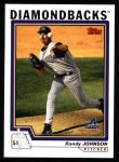 2004 Topps #450  Randy Johnson  Front Thumbnail