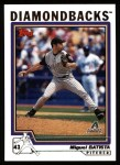 2004 Topps #253  Miguel Batista  Front Thumbnail