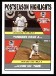 2004 Topps #349  Roger Clemens / David Wells  Front Thumbnail