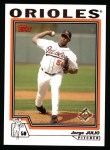 2004 Topps #212  Jorge Julio  Front Thumbnail