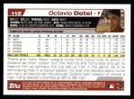 2004 Topps #112  Octavio Dotel  Back Thumbnail