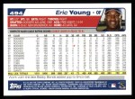 2004 Topps #494  Eric Young  Back Thumbnail