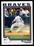 2004 Topps #15  Marcus Giles  Front Thumbnail