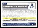 2004 Topps #651   Kansas City Royals Team Back Thumbnail
