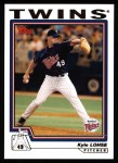 2004 Topps #148  Kyle Lohse  Front Thumbnail