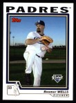 2004 Topps #491  David Wells  Front Thumbnail