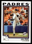 2004 Topps #37  Jake Peavy  Front Thumbnail